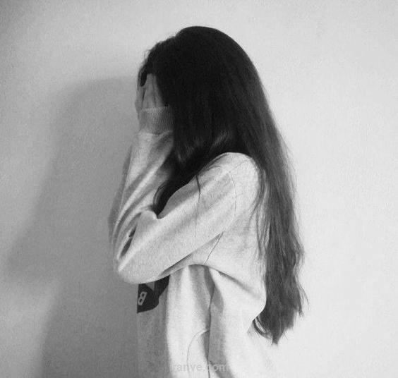 عکس سیاه و سفید پروفایل شکست عشقی دختر