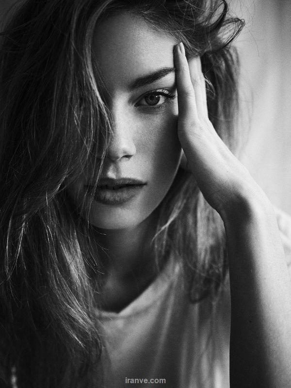 عکس پروفایل دخترونه سیاه و سفید
