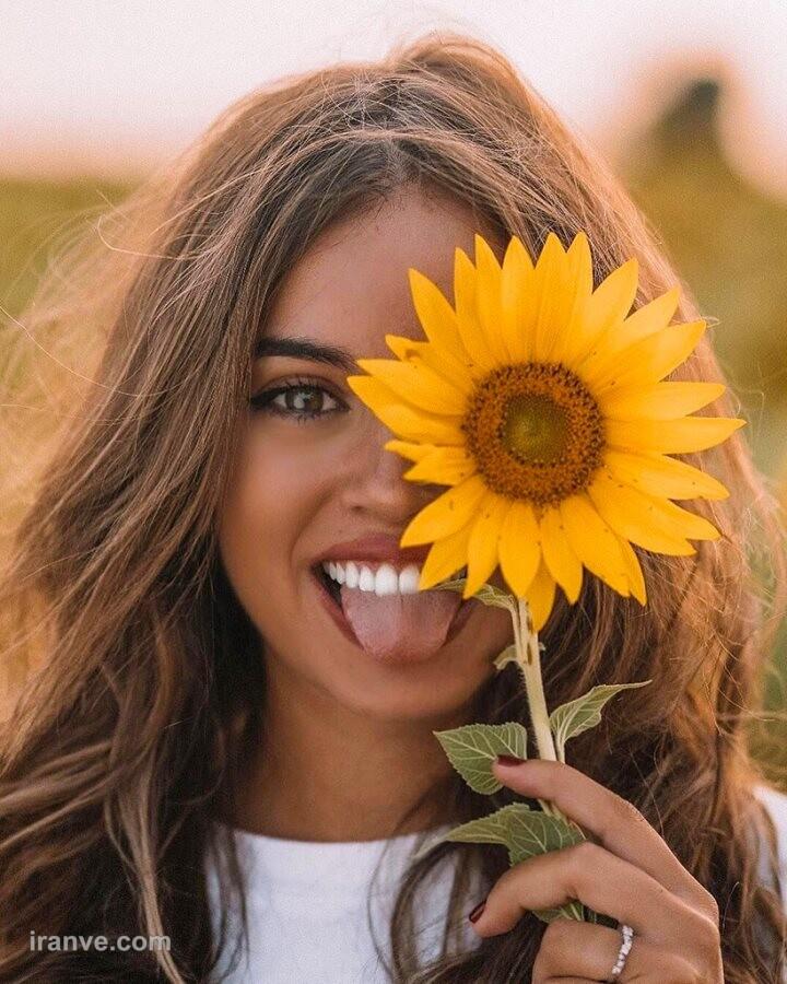 عکس پروفایل گل گلی دخترانه