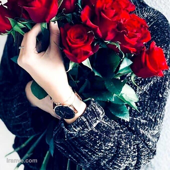 عکس پروفایل گل با صلوات