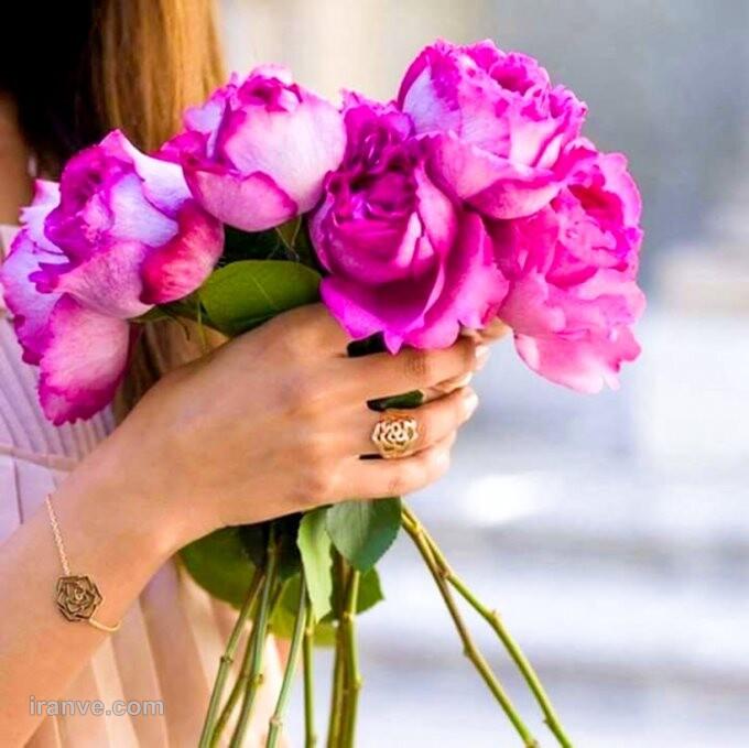 عکس پروفایل گل جذاب