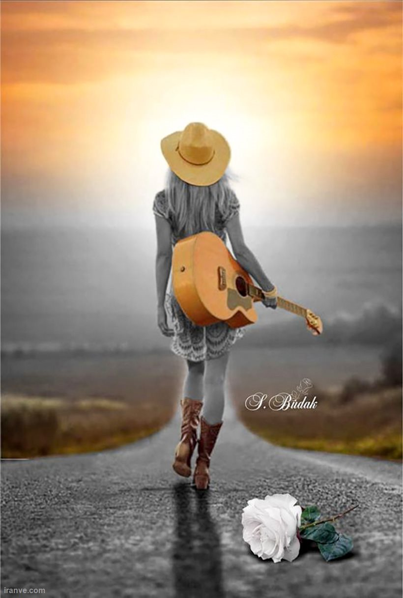 عکس پروفایل دخترونه گیتار