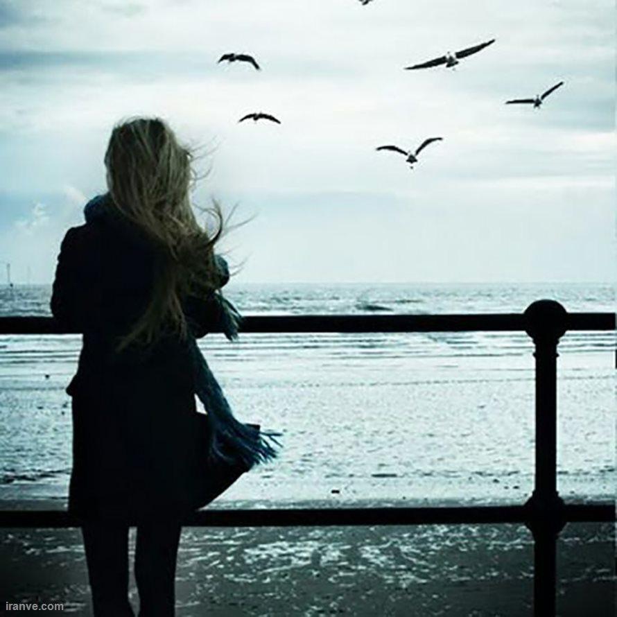 عکس پروفایل دخترونه غمگین تنهایی , پروفایل دخترانه غمگین گریه