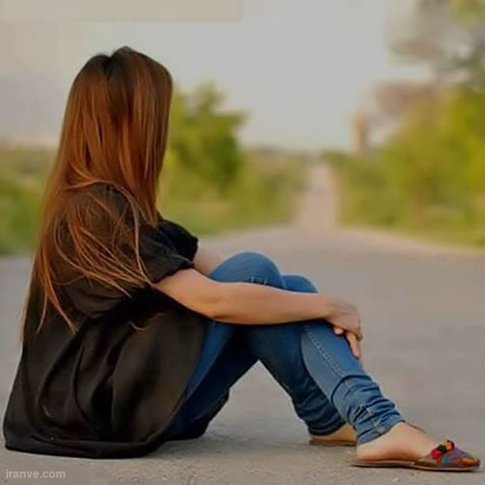 عکس پروفایل دخترونه غمگین بدون متن , عکس پروفایل غمگین دخترانه گریه