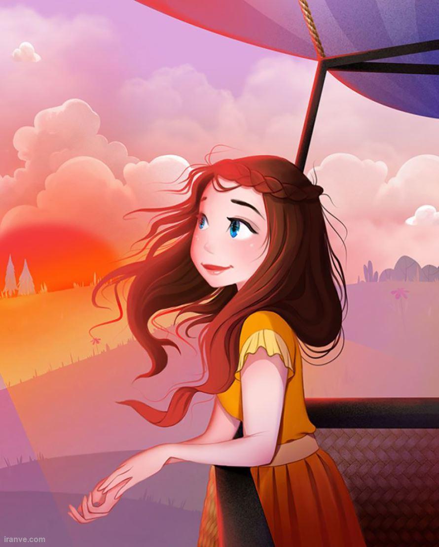 پروفایل دخترونه شاد و قشنگ , عکس پروفایل دخترونه شاد و زیبا