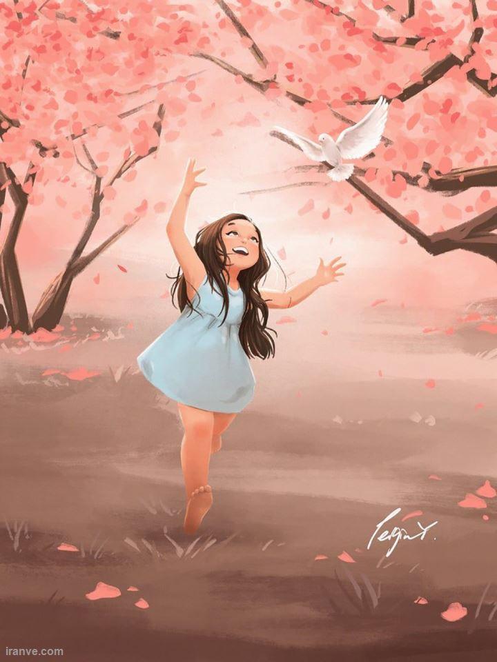 عکس پروفایل دخترونه چادری شاد , پروفایل دخترونه شاد