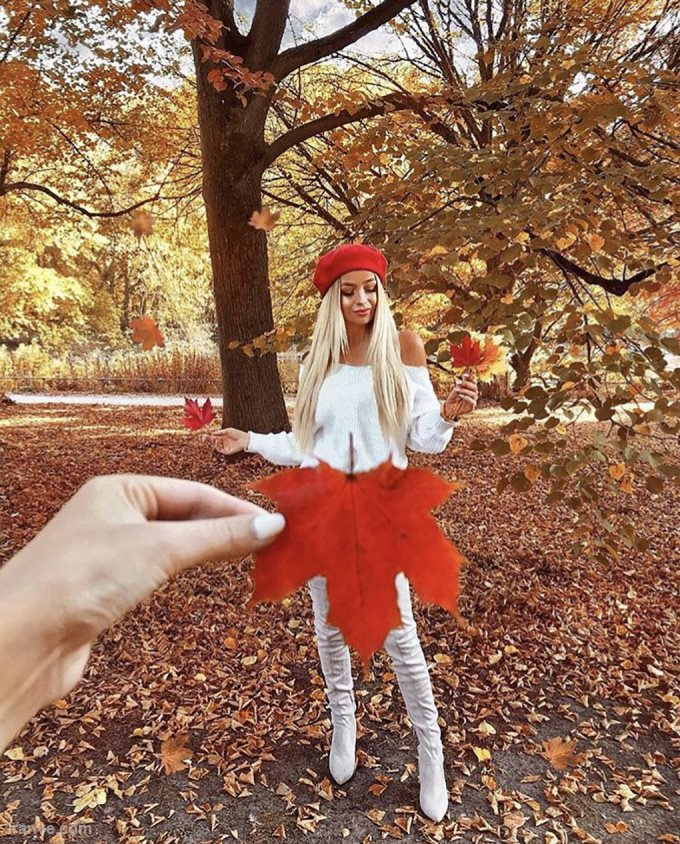 عکس پروفایل دخترونه درمورد پاییز
