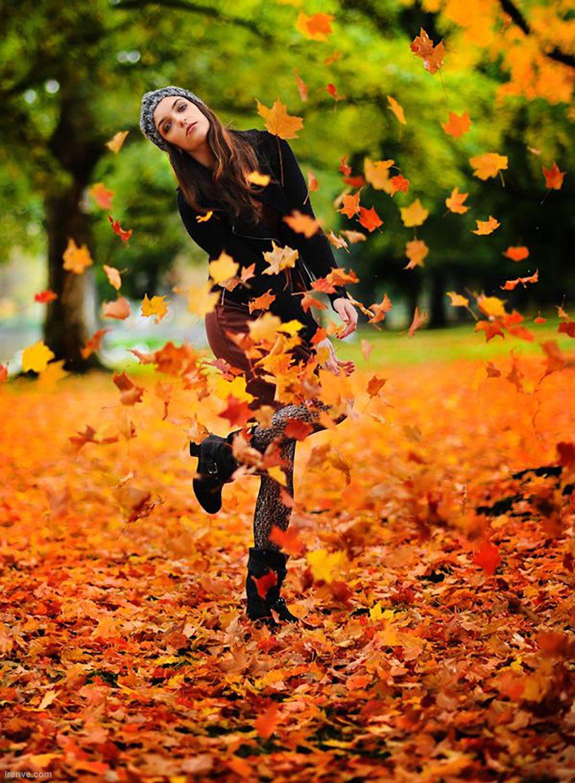عکس خاص برای پروفایل دخترونه پاییزی