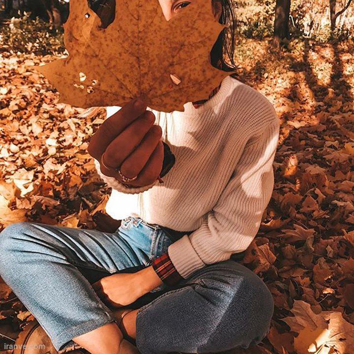 عکس پروفایل دخترونه در مورد پاییز
