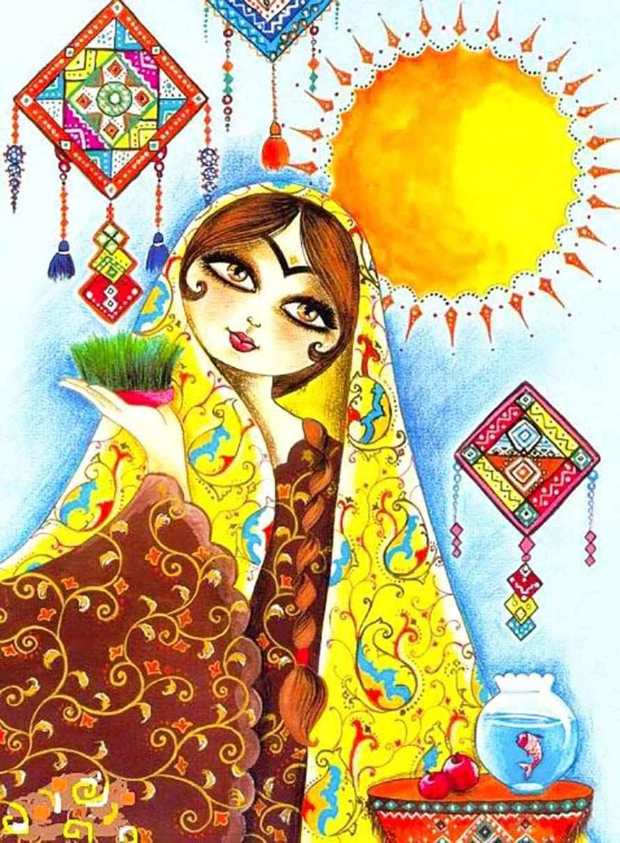 پروفایل پیشواز عید نوروز , عکس عید نوروز سنتی , عکس عید نوروز در مازندران
