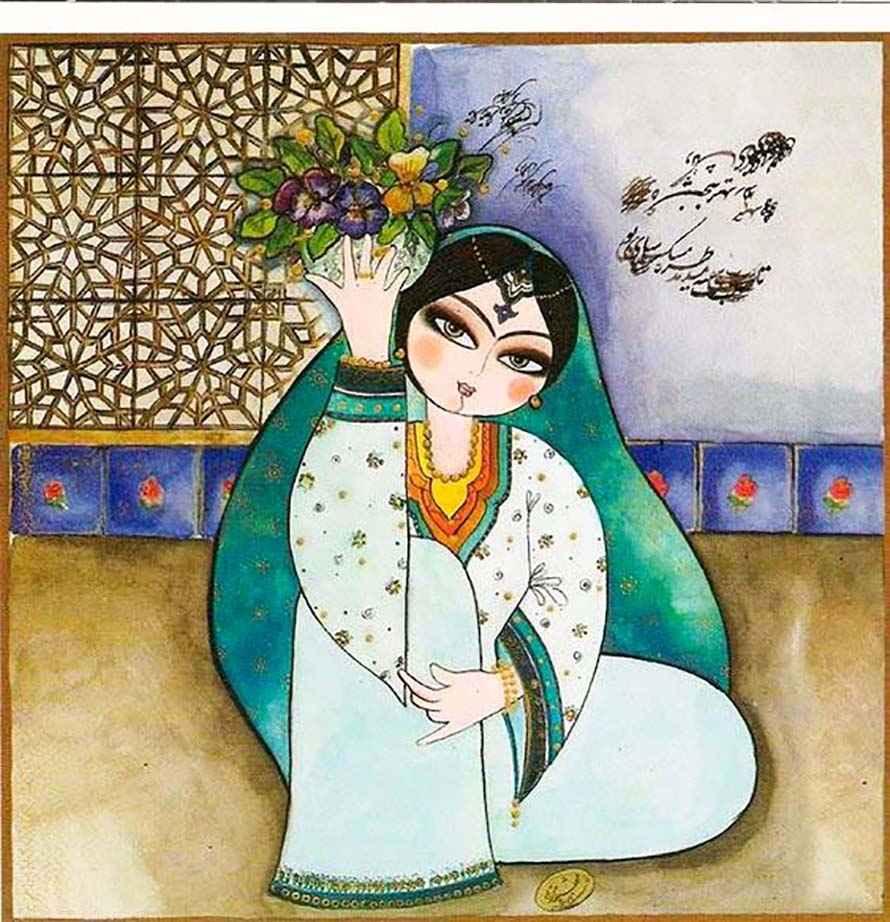 پروفایل عید نوروز غمگین , عکس گل برای عید نوروز