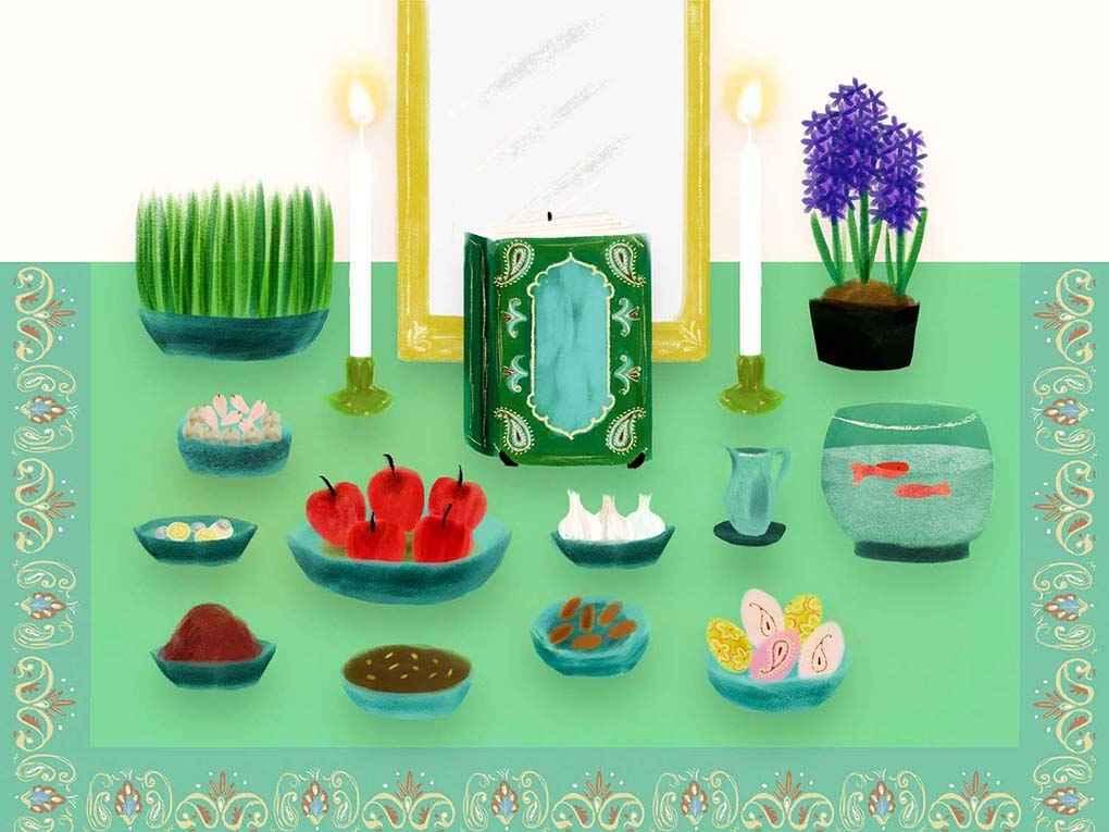 پروفایل برای عید نوروز غمگین , عکس تبریک عید نوروز به ترکی