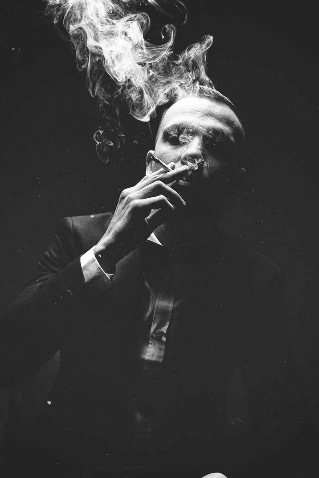 عکس سیگار غمگین برای پروفایل , عکس سیگار مشکی , عکس نوشته سیگار غمگین