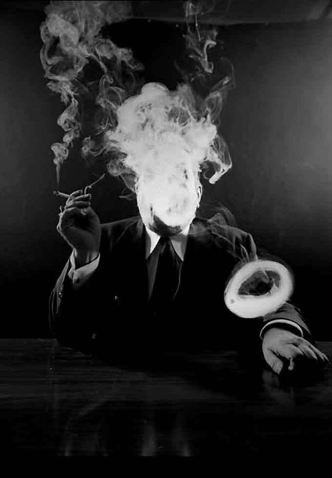 عکس سیگار قدیمی , عکس سیگار پال مال , عکس سیگار با متن غمگین