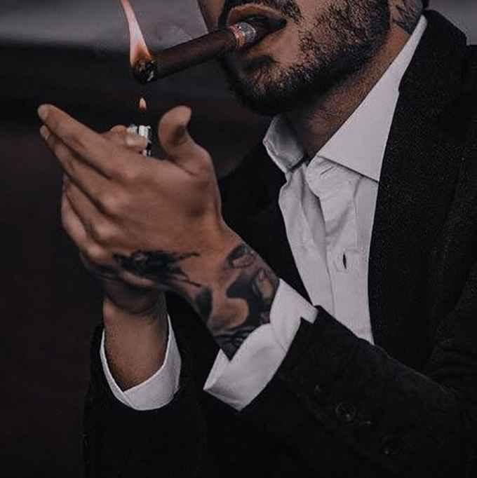 عکس سیگار شکلات , عکس سیگار زر , پروفایل از سیگار